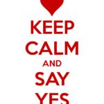 Say yes 2 (Conferma iscrizione)